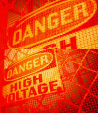 Danger Sign High Voltage